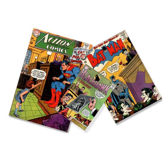Печать комиксов и раскрасок на заказ