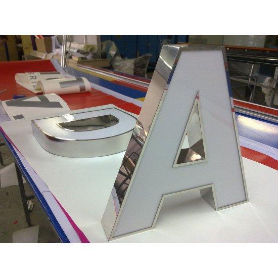 Объемные буквы на выставку
