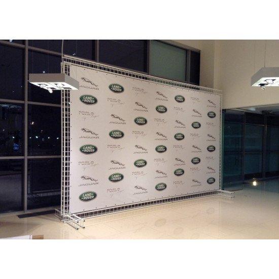 Пресс Волл ( Press Wall ) . Изготовление , цена выставочного стенда в Москве