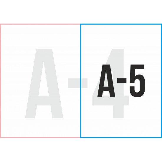 "Листовка  А-5 ""4+4"" (с двух сторон) 52 шт."