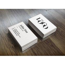 Визитки 90-50мм. материал Мелованная бумага, 4+0 (печать с одной стороны)