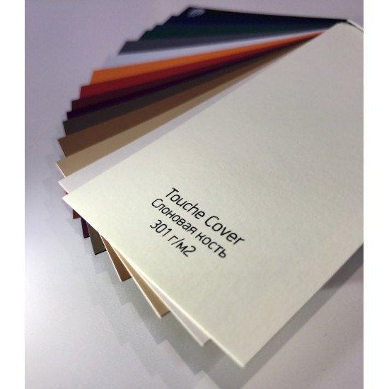 Визитки 90-50мм. материал Touche Cover, 4+0 (печать с одной стороны)