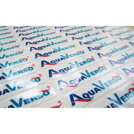 Стикер на упаковку 20х50 контурная резка